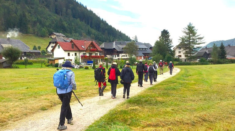 Walking Tour Black Forest Germany