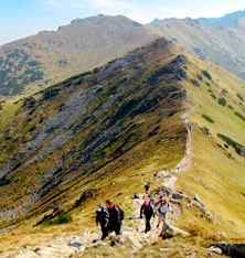 Hiking tour Eastern Europe