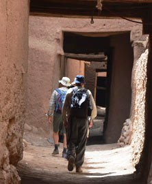 walking group Morocco