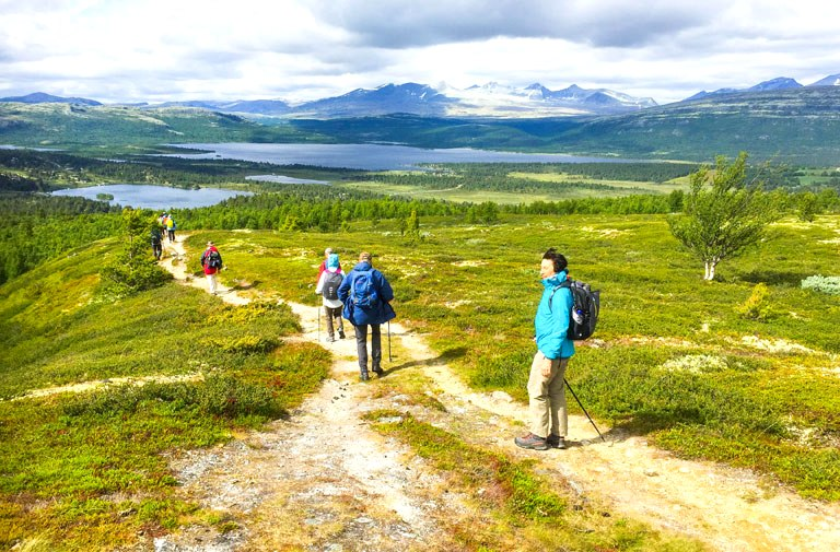 Walking Tour Norway
