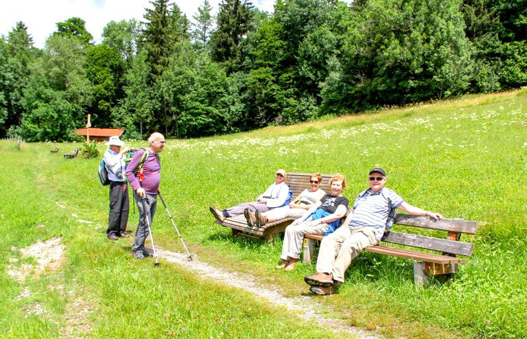 Guided walking holidays Germany