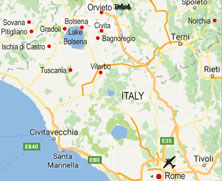 tuscany walking itinerary