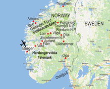norway walking itinerary