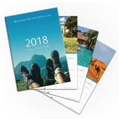 2018 Walkabout Wall Calendar