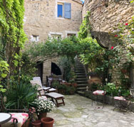 Courtyard Forcalquier
