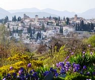 Alhambra Gardens, Andalusia