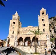 Norman Cathedral of Cefalu Sicily