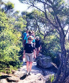 Walking holiday Wilson Promontory