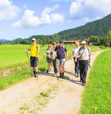 Walking group tour Bavaria