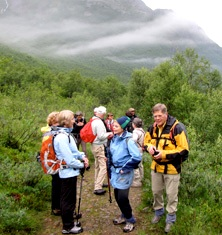 Guided walking Norway