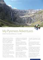 French pyrenees traveller story