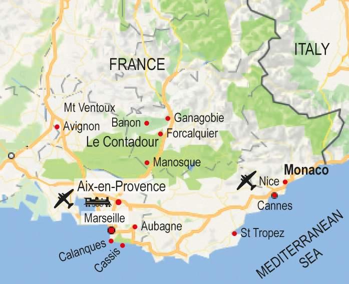 Aix En Provence Map walk map aix en provence Aix En Provence Map