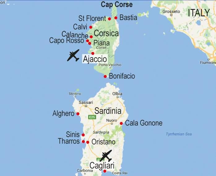Walk Map Corsica